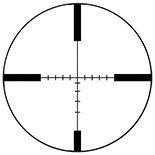 BDC-1 Quadplex reticle