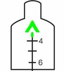 Trijicon ACOG TA11F-G Reticle