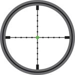 Trijicon Mildot Green Dot Reticle
