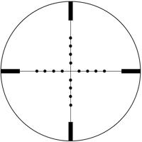 Vortex Viper Mil-Dot Reticle