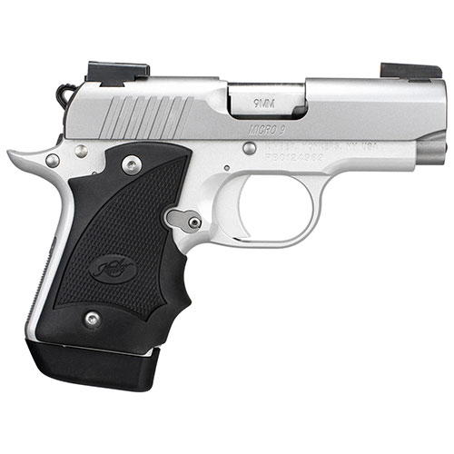 Kimber Micro 9 Stainless Dn 9mm 3300193 Dk Firearms: Kimber Micro 9 Stainless (DN) /TFX®Pro Sight & Hogue