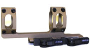 "ADM AD-RECON 34mm FDE Cantilever Scope Mount 2"" Offset"