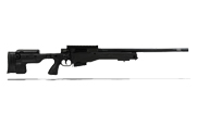 Accuracy International AT Rifle - Fixed Black Stock - 308 Win 20 inch non threaded bbl - small firing pin AT-308WNFIBL20PL0M