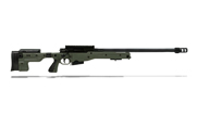 Accuracy International AT Rifle - Folding Green Stock - 308 Win 24 inch threaded bbl std brake - small firing pin|