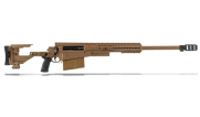 "Accuracy International AX50 ELR Folding Rifle Dark Earth .50 BMG 27"" M24x1 Triple Port Brake 16"" Forend Tube 29030DE"