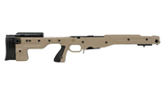 Accuracy International AT Chassis SA .308 Model 700 Fixed Stock 1.5 PALE BROWN 26694PB 26694PB