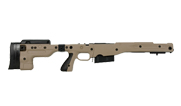 Remington 700P 5R 300 Win Mag with Accuracy International AT Pale Brown Folding Chassis|