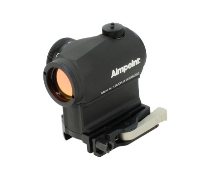 Aimpoint Micro T1 - 2 MOA with 39mm spacer and LRP base  200073 200073