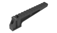 Badger Ordnance Condition One Coaxial Laser Integration Fixture (CLIF) 12 Slot Rail Black 700-21B