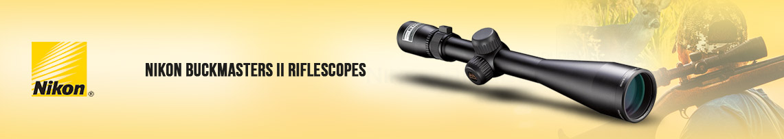 Nikon BUCKMASTERS II Riflescopes