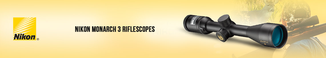 Nikon MONARCH 3 Riflescopes