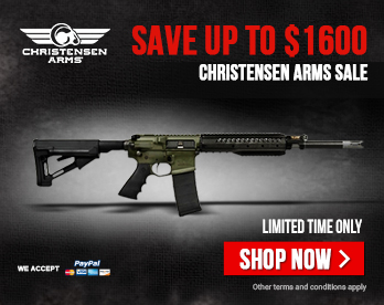 Christensen Arms Sale