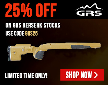 Receive 25% OFF on GRS Berserk Stocks - Use Code GRS25