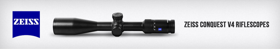 Zeiss Conquest V4 Riflescopes