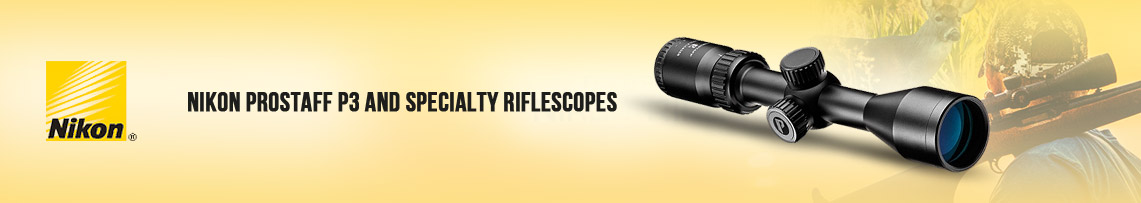 Nikon PROSTAFF P3 and Specialty Riflescopes