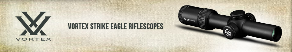 Vortex Strike Eagle Rifle Scopes