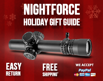 Nightforce Holiday Gift Guide 2018