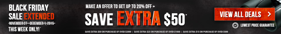 Black Friday Sale Extended 2015