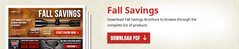 Fall Savings 2017