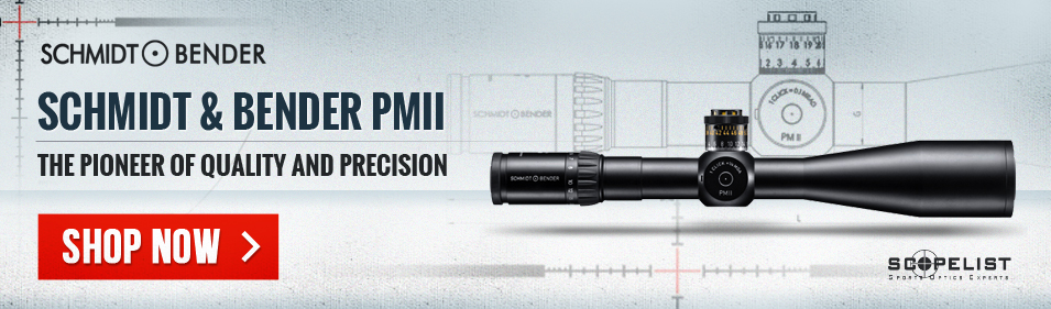 Schmidt Bender PM II rifle scopes