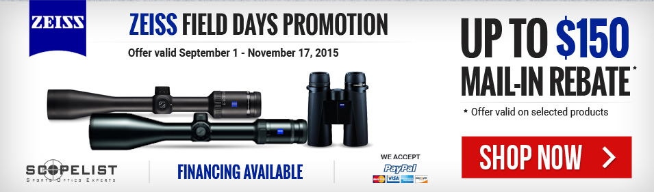 Zeiss Field Days Promotion