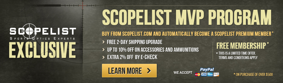 Scopelist MVP Program