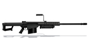 Barrett Model 82A1 .50 BMG Rifle System 29' Barrel Black Parkerized 13316 13316