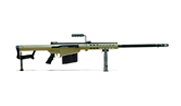 Barrett Model 82A1 .416 Barrett Rifle System:Tan Receiver 29' Fluted Barrel 14029 14029