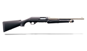 Bennelli Nova H2O Pump Black synthetic, Matte nickel, Tactical rifle sight 20090