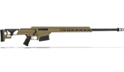 "Barrett MRAD .338 Lapua Mag Bolt Action Fixed 26"" Fluted 1:9.4"" 10rd FDE Rifle 18503"