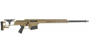 "Barrett MRAD 6.5 Creedmoor Bolt Action Fixed 24"" Fluted 1:8"" 10rd FDE Rifle 18521"
