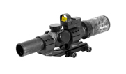 Burris MTAC 1-4x24mm Illum Ballistic AR Prym 1 Blackout Scope Combo 200465