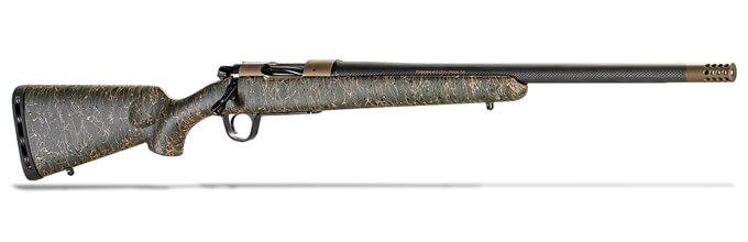 "Christensen Arms Ridgeline .300 PRC 26"" 1:8 Burnt Bronze Cerako Green w/ Black & Tan Webbing Rifle 801-06054-00"
