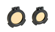 Elcan SpecterDR 1x-4x Amber Flip Cover Kit SFC-SDR6-A