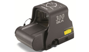 EOTech Single CR123 battery; 2-dot reticle with .300 Blackout ballistics on hood XPS2-300 XPS2-300