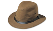 Filson Tan Tin Cloth Packer Hat 60015242102