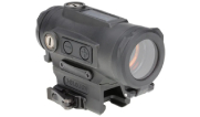 Holosun HE530C-GR Titanium Green Multi-Reticle Circle Dot 30mm Reflex Sight with Solar Failsafe Shake Awake and QD Mount HE530C-GR