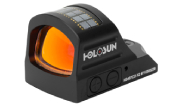 Holosun HS407C-X2 2MOA Dot Only Open Reflex Sight with Solar Failsafe and Shake Awake - HS407C-X2
