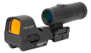 Holosun HS510C+HM3X Combo Multi-Reticle Circle Dot Open Reflex Sight with 3x Flip-to-Side Magnifier HS510C-HM3X-Combo