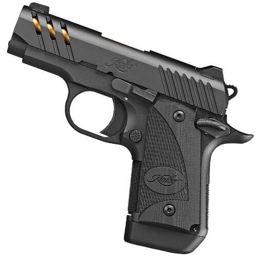 Kimber Micro 9 ESV (Black) (TiN Gold Barrel) 9mm Pistol 3300199