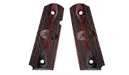 Kimber Ruby/Charcoal laminate - Full-Size - Kimber Logo - for Custom & Pro 1911 models 1100211A 1100211A