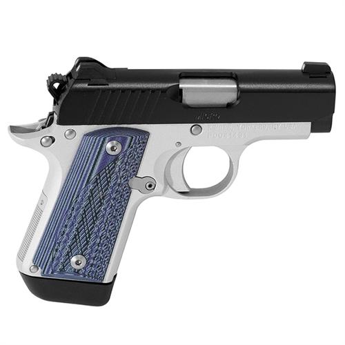 Kimber Micro Carry Advocate Purple/black Grips .380 ACP