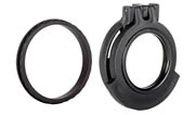 Tenebraex Objective Clear Flip Cover w/ Adapter Ring for 40mm Leupold Scopes 40LTCC-CCR