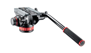 "Manfrotto 502HD Pro Video Head with Flat Base (3/8""-16 Connection) MVH502AH