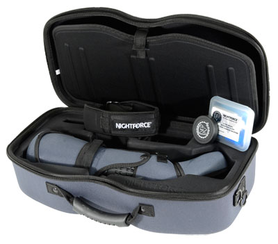 Nightforce Spotting Scope Kit TS-82 Xtreme Hi-Def Angled with 20-70x eyepiece (SP101) Case (A290) sl SP401