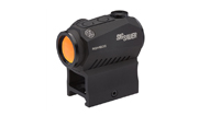 Sig Sauer Romeo 5 Compact Red Dot Sight 1X20MM, 2 MOA Red Dot, 0.5 MOA Adj, M1913, BLACK. MPN SOR52001