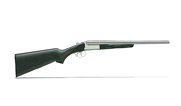 "Stoeger Coach DT SxS Polished Nickel 12GA 20"" Shotgun 31415"