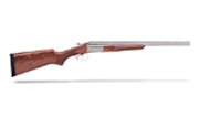 "Stoeger Coach Gun Supreme (DT-EXT) 20"" SxS, AA-Grade gloss walnut, Polished nickel, 12 ga. 31482"