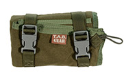 TAB Shooting Mat with Fastex buckles- OD Green