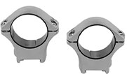 "Tikka Stainless Steel 1"" Low Ring Mount S1323900"